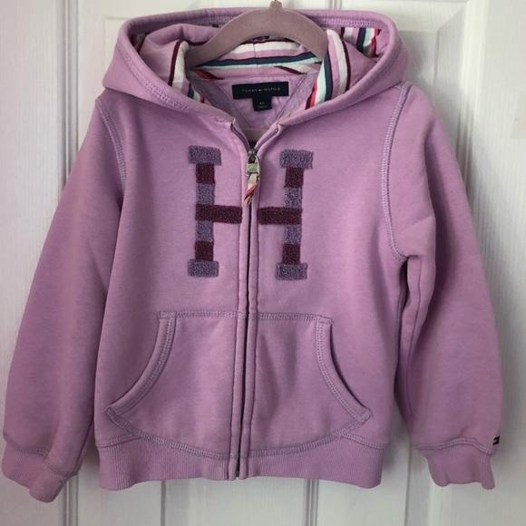 576c8b90f Tommy Hilfiger Shirts & Tops | Hoodie Toddler Girl 4t | Poshmark